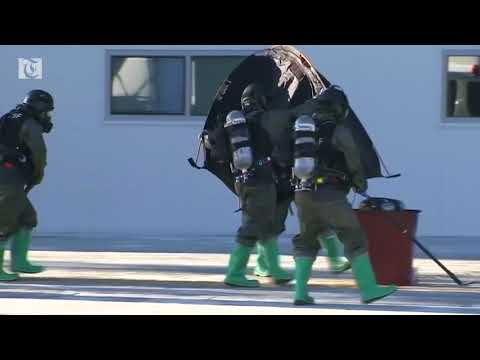 South Korea conducts anti-terror drills ahead of Winter Games