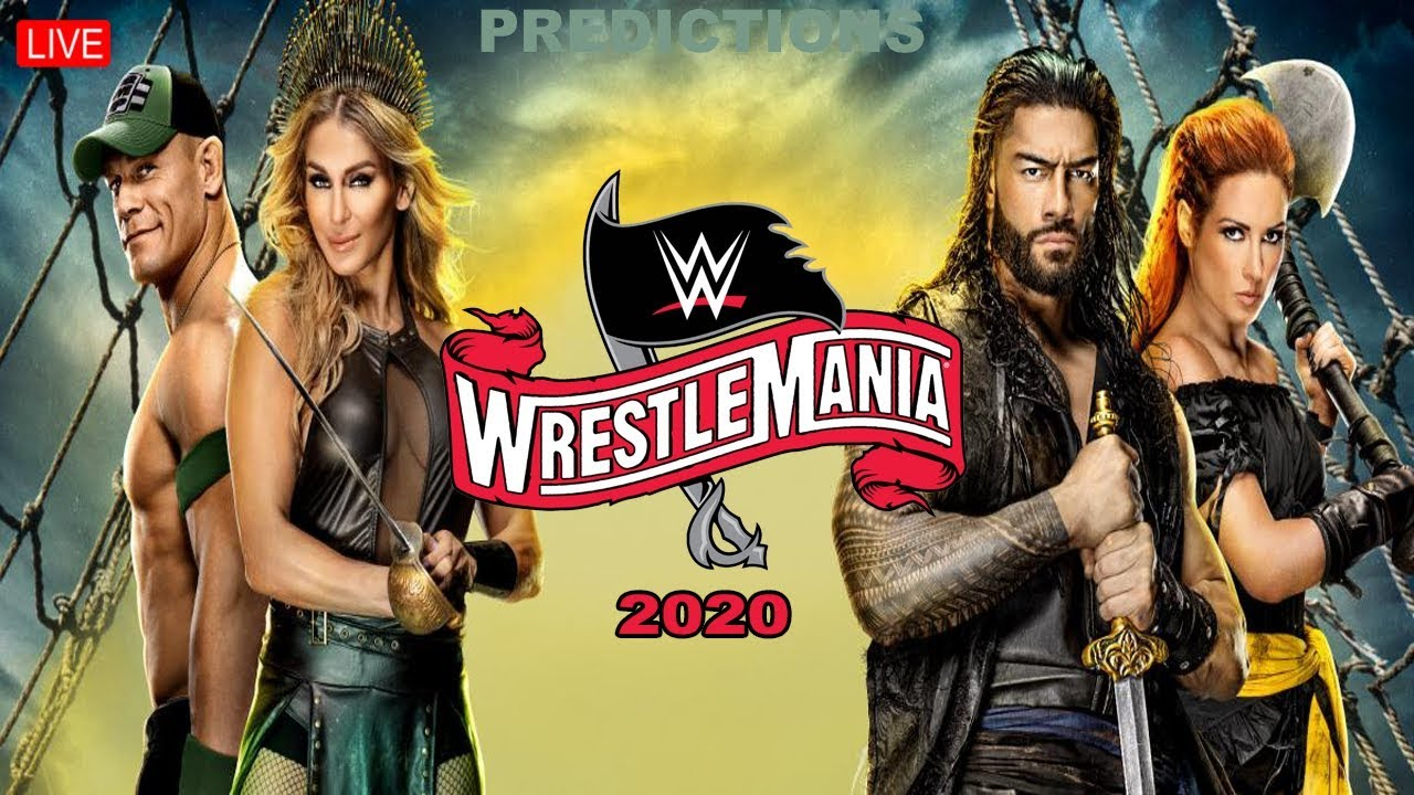 WWE WrestleMania 36 Day 1 Start Time, Date, TV, And Live Stream ...