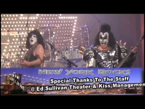 Kiss Live @ The Ed Sullivan Theater in NYC Part One