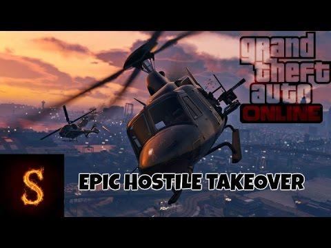 Gta 5 Online - Epic hostile takeover