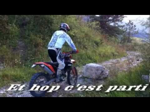 franchissement enduro 4 temps