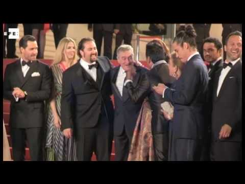 Robert de Niro honoured in Cannes
