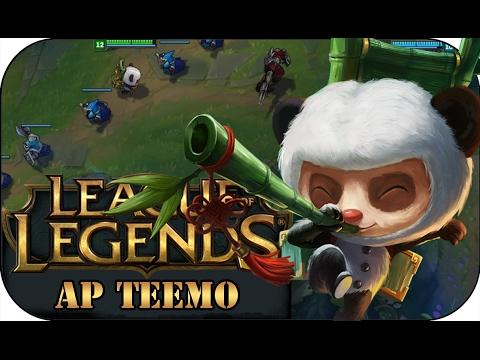 SO WIRD GENATZT! AP TEEMO TOP   League of Legends Gameplay deutsch