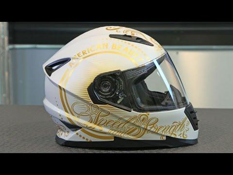 S&S Women's SS1600 American Beauty Helmet | Motorcycle Superstore