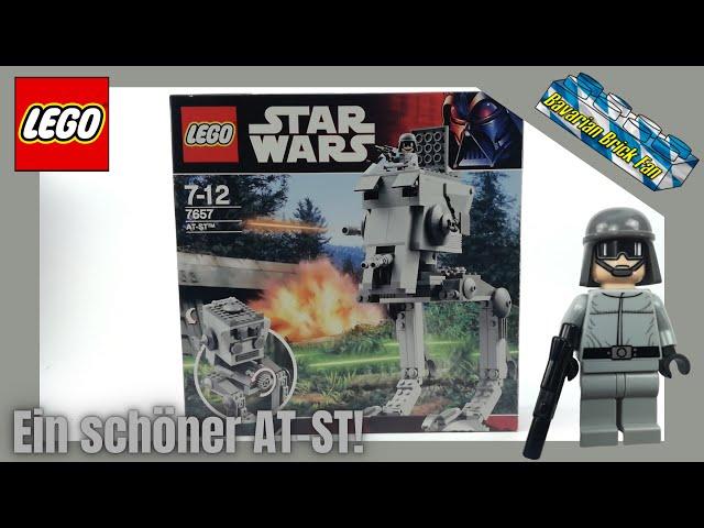 LEGO Star Wars 7657 - At-St aus 2007! I Review deutsch