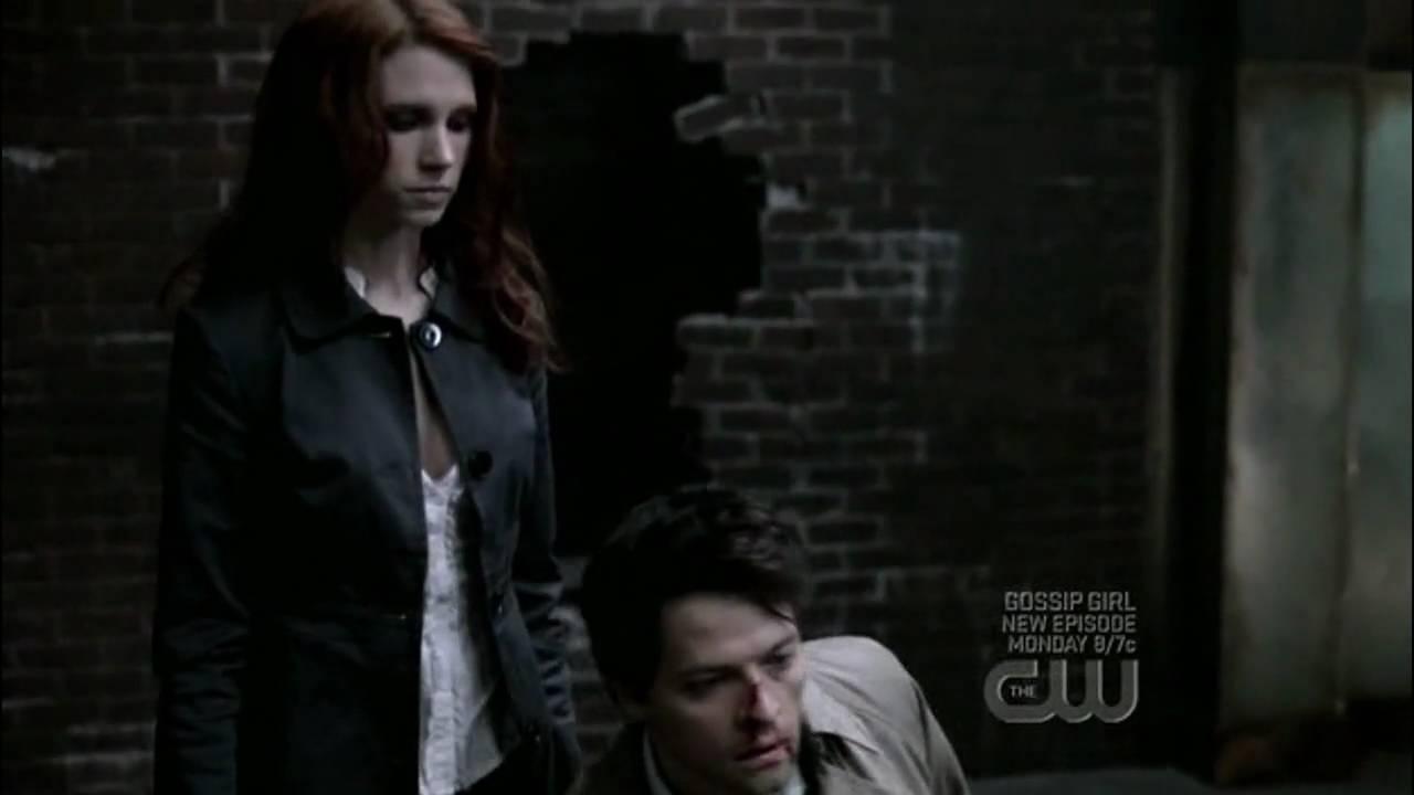 Supernatural 4x16 - 02 Angel vs Angel, Castiel vs Uriel HD - YouTube