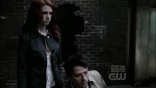 Supernatural 4x16 - 02 Angel vs Angel, Castiel vs Uriel HD