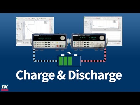 Charge And Discharge Batteries With B&K Precision's Battery Test Software