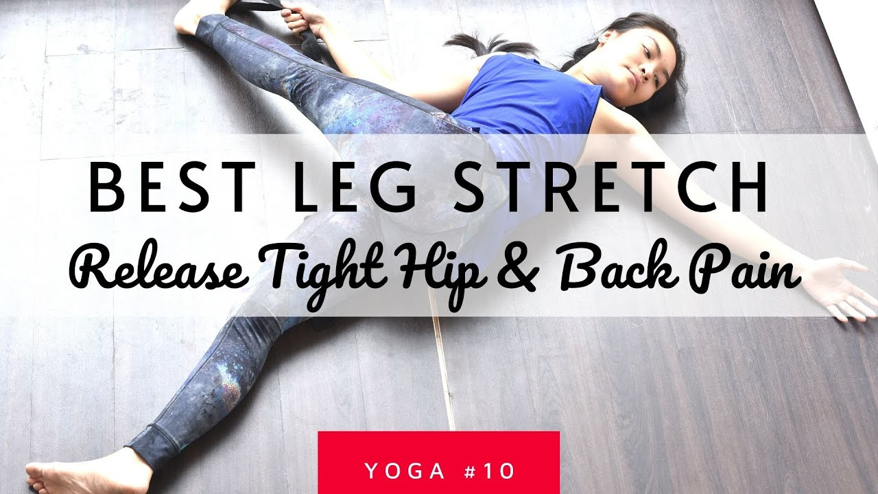 Do This Everyday to Release Tight Hip & Back Pain| Best Runner Stretch
