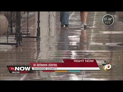 Riverside County prepares for storms
