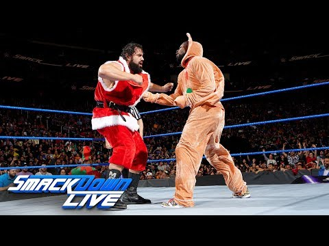 The New Day vs. Rusev & Aiden English: SmackDown LIVE, Dec. 19, 2017