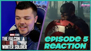 The Falcon and the Winter Soldier Episode 5 & End Credits REACTION - Truth