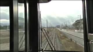 【前面展望】高徳線新型特急2600系徳島~徳島