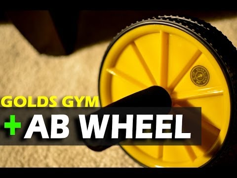 golds gym ab wheel review plank challenge youtube. Black Bedroom Furniture Sets. Home Design Ideas