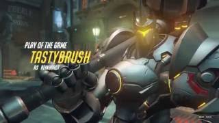 Overwatch Highlight #1 (Reinhardt)