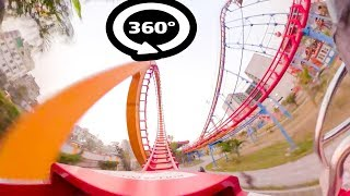 Roller Coaster 360 Video | 360 VR VIDEO for Virtual Reality | 360° Roller Coaster Jamuna Future Park