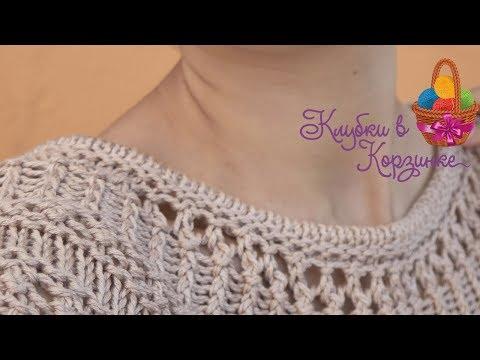Как красиво оформить горловину вязаного изделия