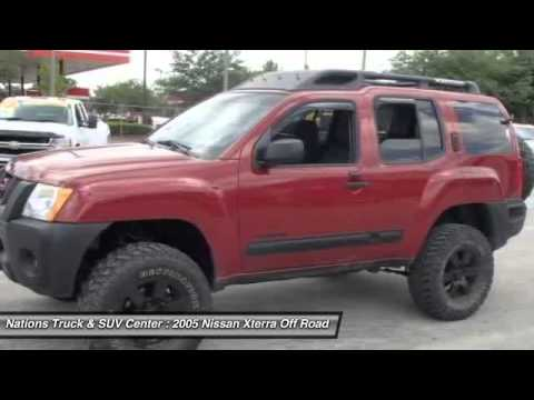 2005 nissan xterra off road 4x4 sanford fl 32773 youtube. Black Bedroom Furniture Sets. Home Design Ideas