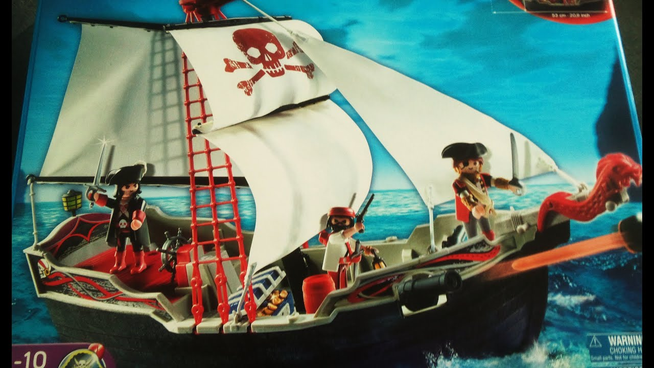 pirate ship playmobil play kids youtube
