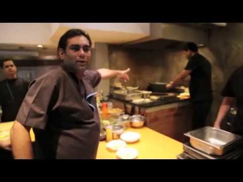 Gaggan Anand presents his restaurant in Bangkok
