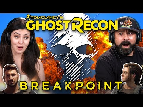 Generations React To Tom Clancy's Ghost Recon Breakpoint: Official Announce Trailer And Gameplay