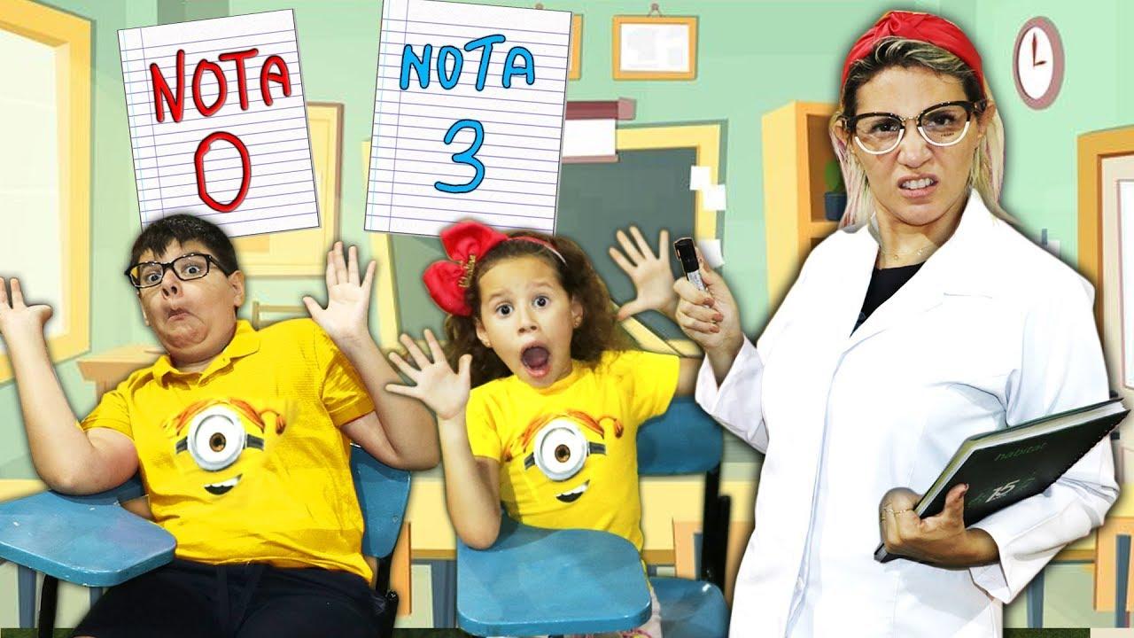 A MENINA QUE NÃO QUERIA ESTUDAR - Escolinha Da Valentina