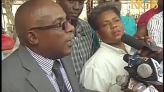Le Ministre de l'Agriculture, Carmel André Belliard a visité Haïti-Broilers à Thomazeau