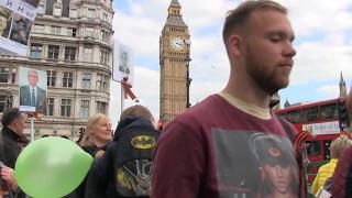 Марш Бессмертного Полка. Лондон 2017.