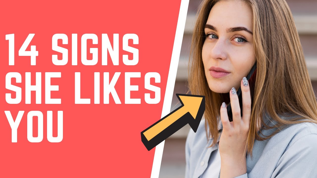 Signs She Likes You More Than A Friend - YouTube