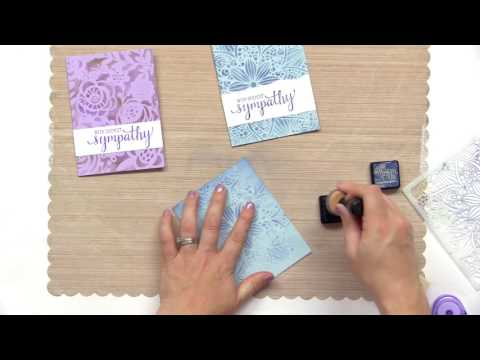 How To Create Sympathy Cards | May Flaum