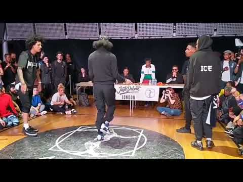 Les Twins VS Shin & Ice Juste Debout London Semi Final 🔥🔥 (part 2)