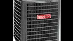HVAC Install-  Goodman SSZ 14 Heat Pump