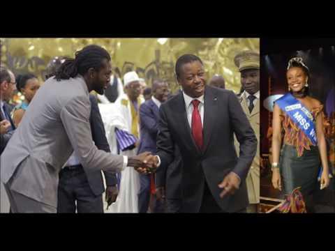 L'affaire Faure Gnassingbé, Adébayor et la Miss Togo Edwige Badakou refait surface
