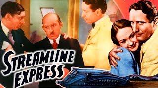 Streamline Express (1935)   Mystery Drama Movie   Victor Jory, Evelyn Venable   Classic Movie