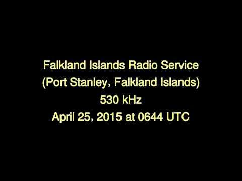 Falkland Islands Radio Service (Port Stanley, Falkland Islands) - 530 kHz