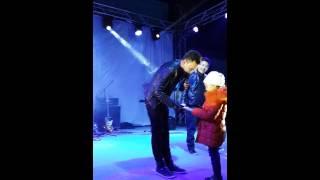 выступление Али Окапова в городе Шымкент
