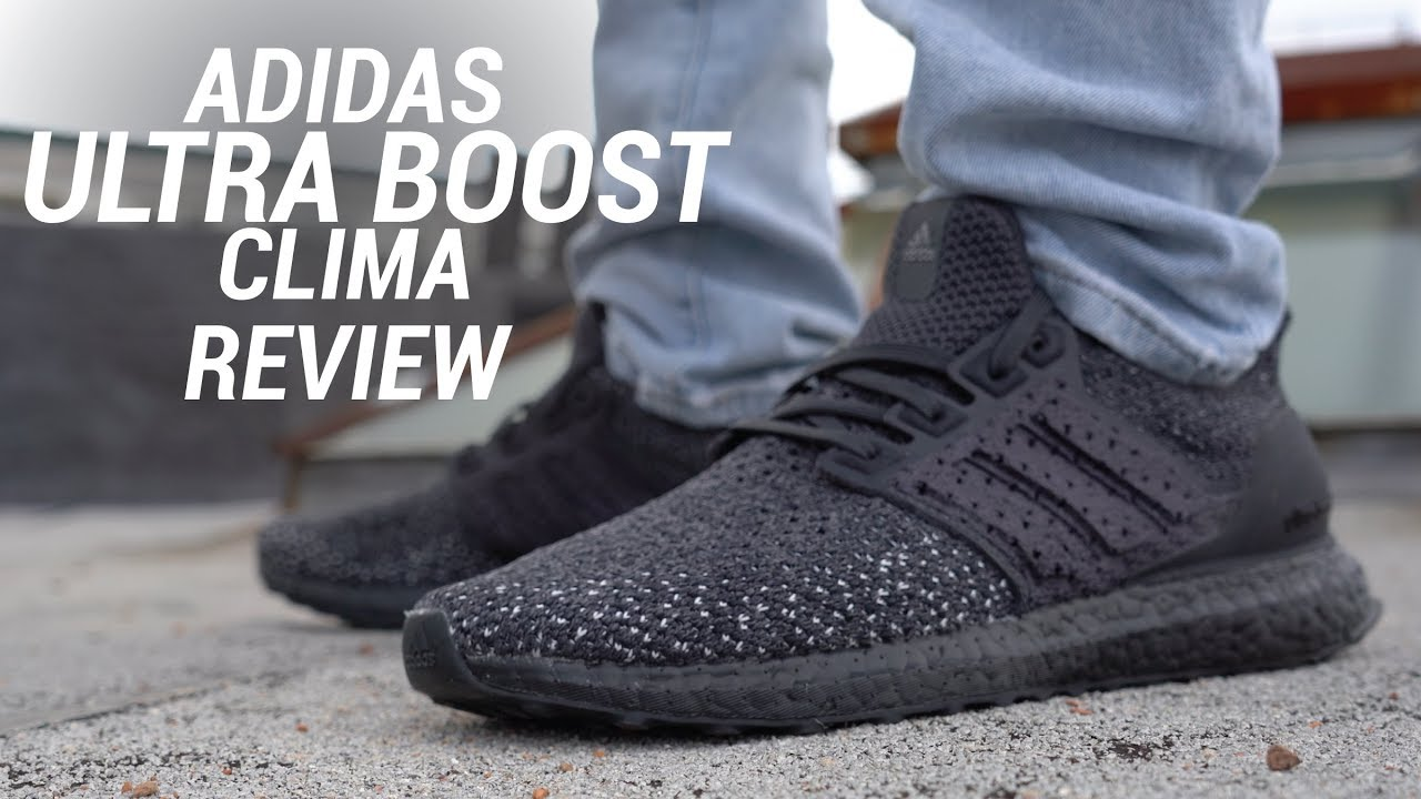 bf0aab3a5 ADIDAS ULTRA BOOST CLIMA REVIEW - YouTube