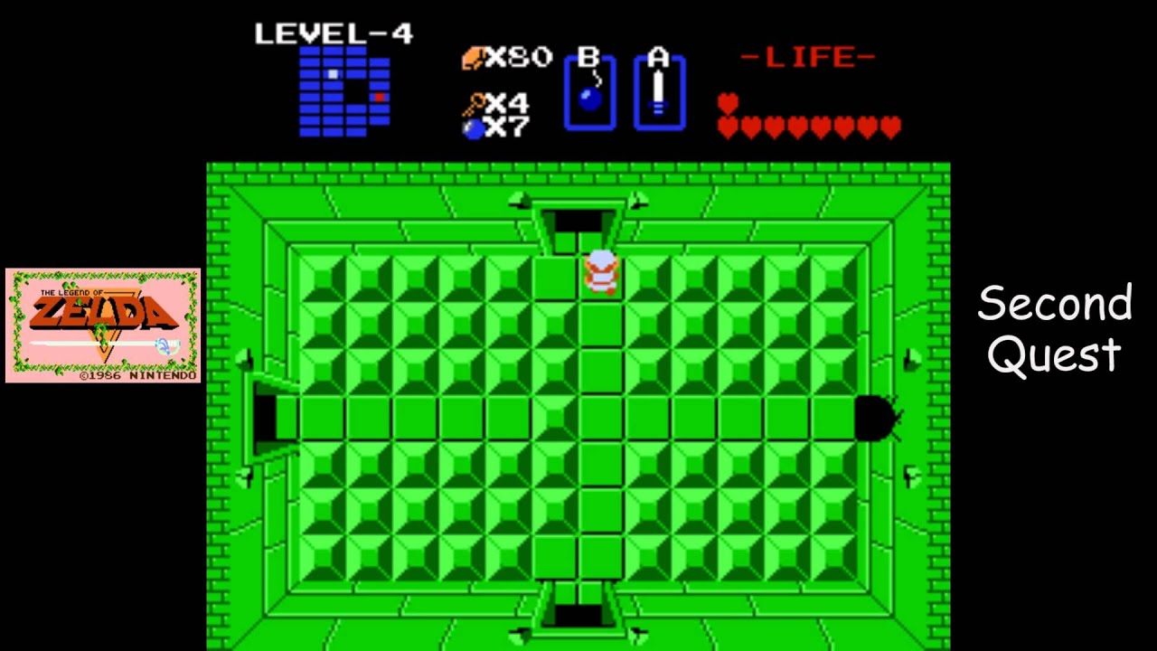 Legend of zelda level 3 second quest