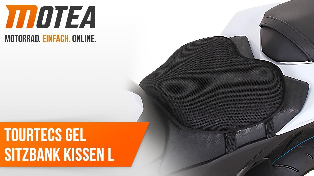 Motorrad Gel Sitzbank Kissen Tourtecs Größe L