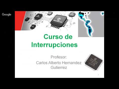 Curso de Interrupcciones usando PIC18F, TIMER0 INT0 y una Aplicacion