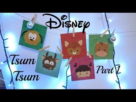 Disney Tsum Tsum art - Part 1