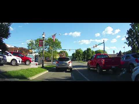 Driving Through Clearfield, Pennsylvania
