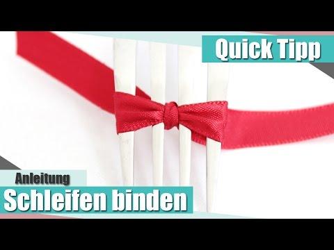 tutorial diy schleifen binden doovi. Black Bedroom Furniture Sets. Home Design Ideas