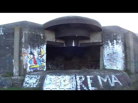 Massive German Gun Bunker of Batterie Oldenburg