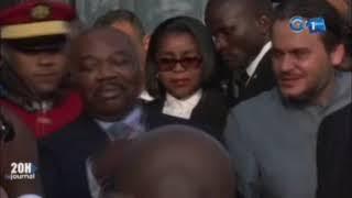 Les Gabonais ont pris d'assaut l'ae?roport Leon M'Ba pour souhaiter un bon retour au chef ...