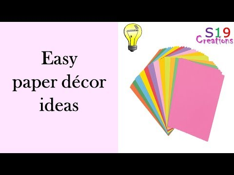 paper craft ideas | Diy home decor ideas | party decoration |diy arts and crafts | easy paper crafts