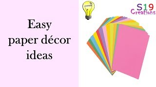 paper craft ideas | Diy home decor ideas | party decoration |diy arts