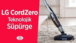 """LG CordZero """"Teknolojiye Ayak Uyduran Süpürge"""" İnceleme Videosu Video"""