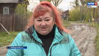 В селе Успенском Слободского района люди страдают от нападений стаи одичавших собак(ГТРК Вятка)