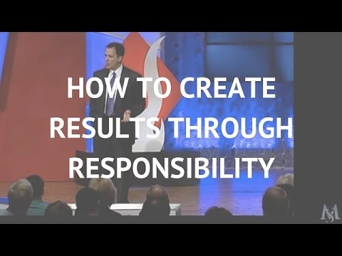 Creating Results Through Responsibility | Mark Sanborn Leadership Speaker
